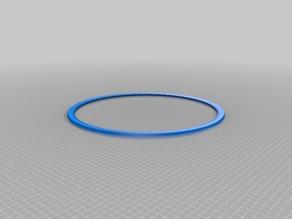 6mm x 400mm Closed Loop Belt TPU / TPE/ NinjaFlex V-belt ()