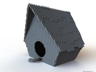 Ramshackle Birdhouse