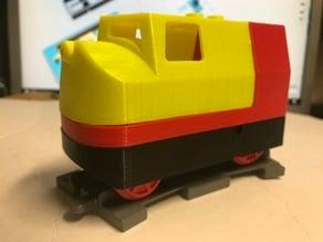 Toy Train: Brick Compatible Motorized Locomotive