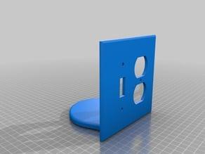 Echo Dot plate cover holder