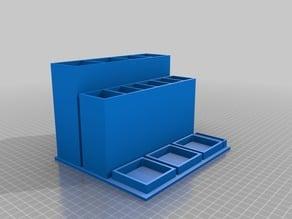 Model Tool Station 3 Glue Pots