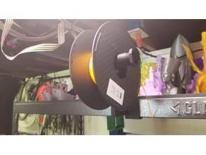 Gladiator shelf spool holder