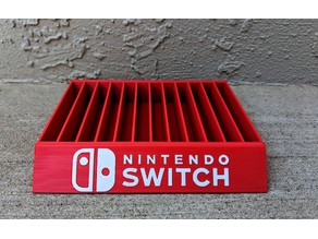 Nintendo Switch Game Case Holder