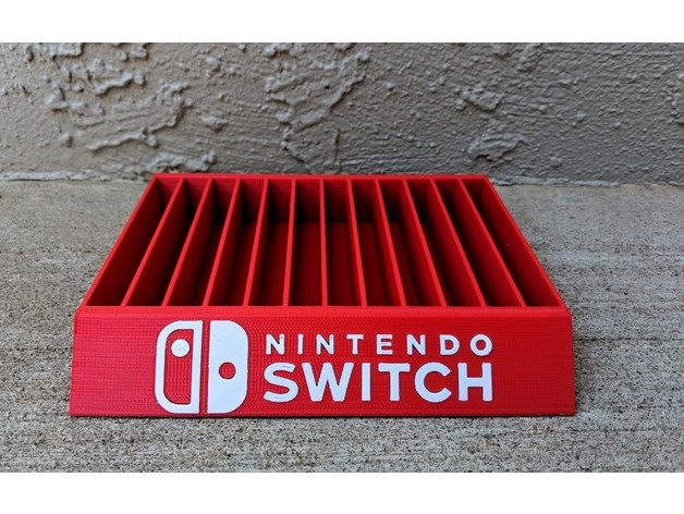 Nintendo Switch Game Case Holder By Mark579 Thingiverse