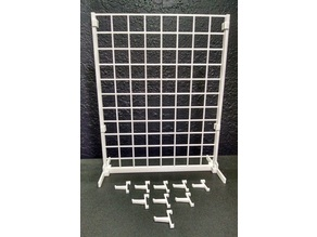 1/3 scale gridwall for BJD ball jointed dolls