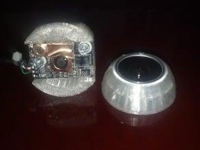 Hercules webcam holder and eye for InMoov