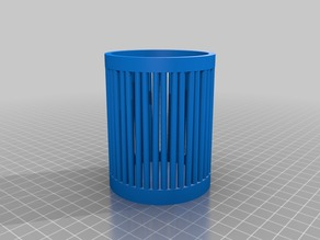 My Customized Simple  (parametric) pencil cup / holder.