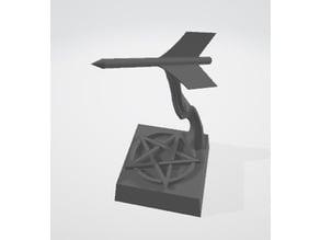 DnD mini - Dart - Animate Object spell (SLA/DLP)