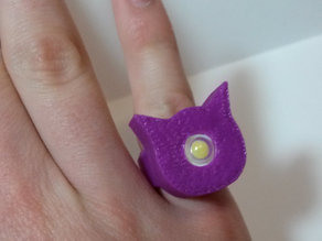 Light-up Cat Ring!