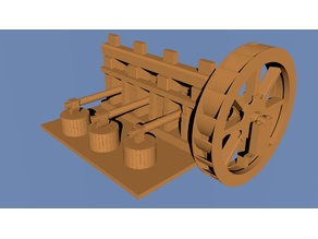 Functionmodel Historic Hammer mill