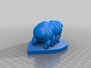 Tardigrade With Base (Water Bear)