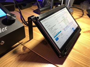 "7"" Touchscreen Stand - Raspberry Pi / Octoprint v1.1"