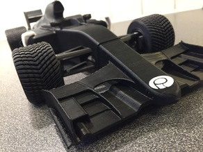 OpenRC F1 Crash Safe Front Spoiler