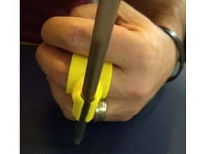 Assistive Technology: Parametric Ring Pen Holder