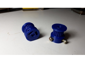 Polea/Pulley GT2 20dientes/tooth eje/axis 4mm