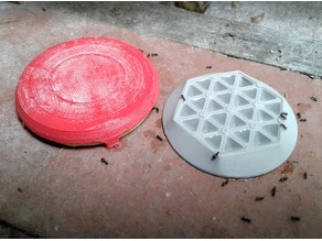 Ant Bait Tray w/ Cover