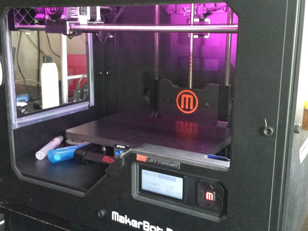 Makerbot Replicator 2 3D Printer Printhead Hot End Kit with Heater Couple