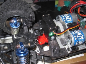 Single Servo Conversion bracket for Losi Mini-LST2