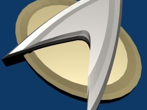 Star Trek TNG Style Comm Badge