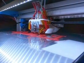 The Kraken mount and fanhouse for Felix printer.