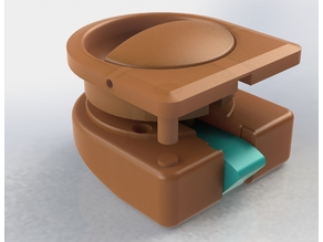 VW T3 Teca Camper - Furniture handle (complete assembly)