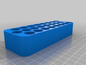 Tray for 24 AA batteries