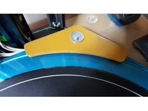 Tevo Little Monster 400 mm printing glass bracket