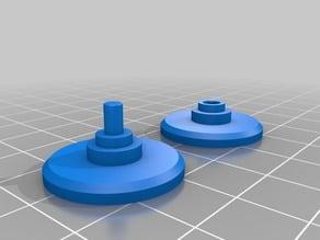 spinner 696 bearing cap wider fidget and slim version