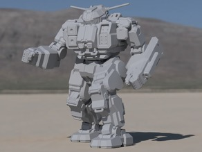 QKD-4G Quickdraw for Battletech