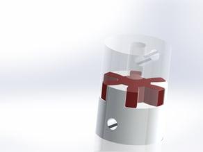Acoplador Eixo 5mm (NEMA17) to 8mm