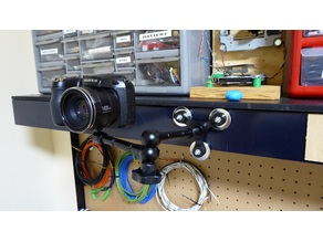 Magnetic Camera Arm