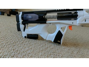 Caliburn AMP style stock filler with Monopod