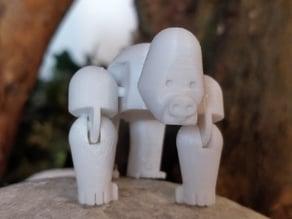 Movable Gorilla