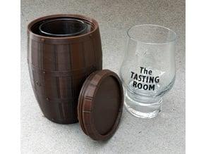 Whisky-Barrel for tastingglass