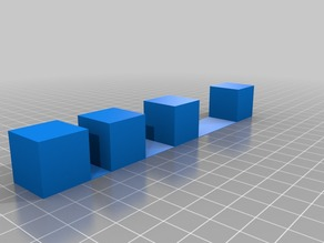 Stringinging cubes test