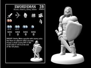 Swordsman (18mm scale)
