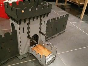 Lasercut castle