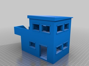 Two Story Building for 28mm Gaming