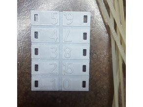 wire number tags