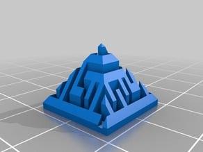 My Customized Random maze pyramid generator - easy style