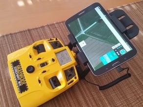 Multiplex Cockpit SX - tablet/smartphone and telemetry holder