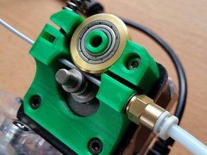 Compact bowden extruder for TinyBoy and Mini Fabrikator
