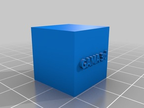 Test cube GAMA 3d