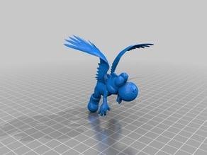 Yoshi Flying
