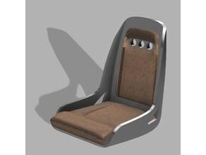 1:10 scale car seat (Hot rod sport)