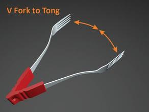 V Forks to Tongs