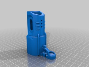 Nerf Rapidstrike Muzzle Battery Case Lock (one more design)