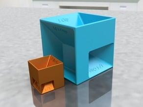 Measuring Cubes