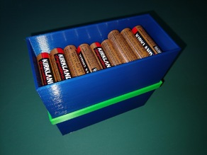 AA storage box stacker