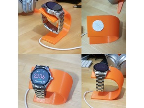 Fossil Q Marshal smartwatch charging stand